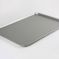 aluminium pizza pan - mm Baking Tools Baking Sheet Plate Cookie Tray Home Baking Pan Sheet Pizza Pan Aluminium Alloy Biscuit Baking Pan