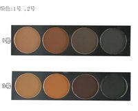 Wholesale Danni Cosmetics Professional Color Waterproof Eyebrow Shaping Powder Palette Brush Eye Shadow Eye Brow Makeup Kit Set