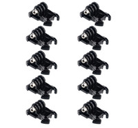basic adapter - 10Pcs Gopro Quick Release Buckle Basic Mount Flat Buckle Base Helmet Chest Strap Mount Adapter for Gopro Hero