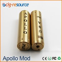 electrical fittings - Apollo copper mechanical mod mods clone fit for lithium battery clone brass good electrical conductivity mods