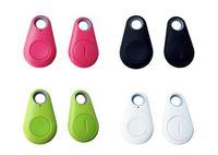 Wholesale Hot dhl Smart Bluetooth Anti lost Tracker Child Bag Wallet Key Finder GPS Locator Alarm Colors