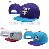 anaheim - embroidery Anaheim Mighty Ducks cap ice hockey snapback hat sports fashion mens gorras baseball bones Character Adjustable caps