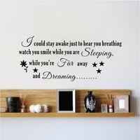 aerosmith lyrics - AEROSMITH song lyrics I COULD STAY AWAKE Vinyl Wall Art Sticker Decal Quote Deco