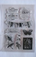 acrylic stamp lot - NEW ARRIVAL MIXED SIZE CM CM CRAFT STAMPS CLEAR ACRYLIC STAMPS