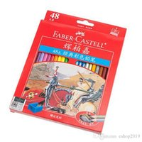 Wholesale 2016 Painting Supplies Faber Castell Classic Colour Pencil Colored Drawing For Artist Set