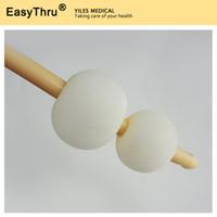 balloon catheter - 3 way double balloon latex foley catheter silicone coated size Fr26 balloon size ml ml sterilized urethral catheter
