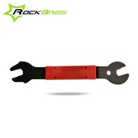 Wholesale RockBros In mm Cycling Bike Bicycle Repair Tool Wrench Bike Pedal Hub Spanner Foot Removal Tool Bicycle Accessories