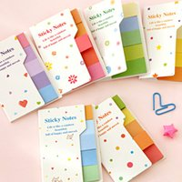 accessories list - hot sale Cute To Do List Sticker Post It Bookmark Marker Memo Index Tab Sticky Note Soild Colors Stationery Accessories