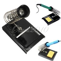 Wholesale Soldering Iron Support Stand Station W Metal Base Home DIY Electrical Safety Protecting Base