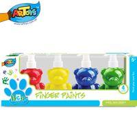 bear paint colors - Artoys Washable Finger Paints Set Four Colors Bear Shape ml Educational DIY Drawing Toys