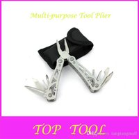 Wholesale Outdoor Products Multi purpose Tool Plier Small Size Multi Function Combination Folding Pliers D699