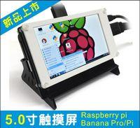 Wholesale 5 inch TFT x480 Hdmi touch Screen LCD Display monitor Model for Raspberry pi raspberry pi B B and BeagleBone Black