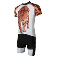 Wholesale summer style men s high quality short sleeve cycling jersey and gel pad pants clothing Sport Compressed Clothes