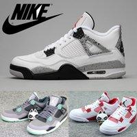 green synthetic - Nike dan quot White Cement quot quot Green Glow quot quot Alternate quot Basketball Shoes For Men World Debut dan Retro Mens Basketball Shoes