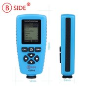 Wholesale High Accuracy Magnetic Eddy Current Coating Thickness Gauge With USB Interface for Bside cct01 pro