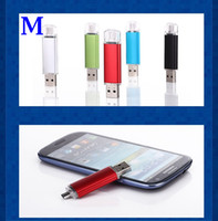 Wholesale 8GB GB GB GB Memory Stick Android Pen Drive Flash Drives U Disk For Smart Phone Tablet PC Real Capacity with Retailbox