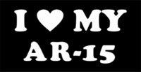 ar love - Car Stickers I Love My Ar Vinyl Sticker Decal Car Window