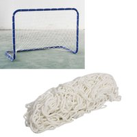 Wholesale High impact flexible light Football Soccer Goal Post Net for Poly Samba Junior Sport Match Double Knotted