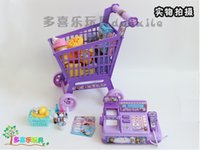 baby boys furniture - baby boys girls Froze Cash register carts suit kids Elsa Anna Pretend Play Furniture Toys children Educational Interactive toys