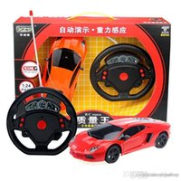 accelerometer model - Mini steering wheel accelerometer remote control lighting four way toy model sports carTo report