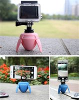 Wholesale Rk degree Rotary Fasion Mini Panorama Robot for Selfie Sticks Photography with Gopro Adapter and Bluetooth Remote Control Shoting