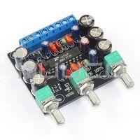 audio power amplifier module - DC AC12V Dual channel Audio Control Module Car Upgrade Power Amplifier Bass Treble adjustment Upgrade Finished Amplifier Board