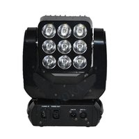 Wholesale Moka MK M25 Led Lights Matrix x3 W RGBW in Moving Head Led Stage Party