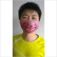 big nose mask - Horror Funny Half Face Latex Mask Costume Cosplay Party Halloween Big Clown Nose Mask