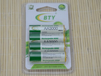 aa digital camera - 100 Original Brand BTY AA Battery Ni MH mAh V Rechargeable AA Batteries For digital cameras remote control flashlight Free Shpping