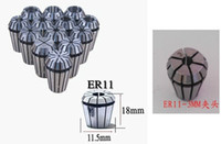 Wholesale ER11 Collet set ER11 collet for CNC Router Engraving tool sizes mm to mm