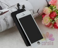 Cheap 100% Brand NEW For iPhone 5s 5G LCD Digitizer Touch Screen Display Replacement Free Shipping DHL