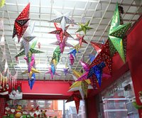 Wholesale Pop Christmas Star Decorations Xmas Creative Cute Christmas Tree Home Indoor Ornaments Best Gifts Toys C1393