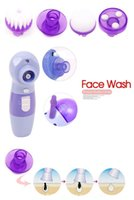 Wholesale good quality Pore Cleaning Face Brush Wash Face Machine Wash Facial Clear Tools Electric Facial Cleansing Brush