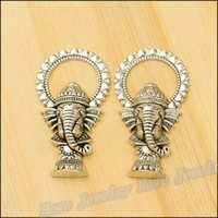 elephant charms - 20 Vintage Charms Elephant Pendant Antique silver Fit Bracelets Necklace DIY Metal Jewelry Making metal love charm