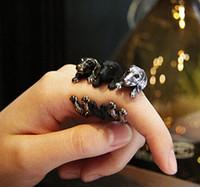 sausage - Vintage Chic Dachshund Dog Ring Sausage Dog Boho Ring For Men Women