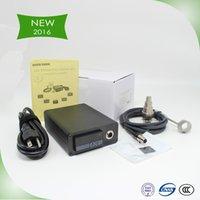 Wholesale NEW W2 Contain Titanium nail MINI TEMPERATURE CONTROL BOX enail coil heater titanium nail electronic cigarette