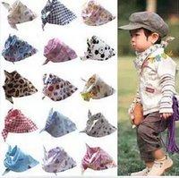 One Size baby bandana bibs - Dribble Cotton Bibs Baby Boy Slabber Triangle Bib Bandana For Babies Waterproof Impermeable Infant Scarf Children Apron Kerchief