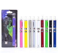 evod - Top Quality Evod MT3 Blister Kit Electronic Cigarette MT3 atomizer mAh mAh mAh Evod Logo Battery E Cigarettes Colors
