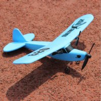 Cheap Free Shipping 2 Channel Radio Remote Control Glider Electric RC Airplane Sail Plane Model Toy Gift