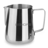 Wholesale ML Stainless Steel Milk Espresso Coffee Frothing Pitcher