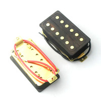 Wholesale Double Coils Humbucker Style Electric Guitar Pickups Made Of Wood Cavity