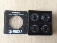 Wholesale 2015 set Professional USA Brand Element Muska Skate Ball Bearings High quality ABEC Skateboard Bearings