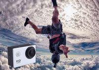 Wholesale SJ4000 style A9 Inch LCD Screen P Full HD Action Camera M Waterproof Camcorders SJcam Helmet Sport DV Car DVR DHL Free ZQ1