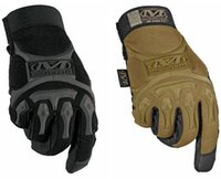 Wholesale Sport Mechanix M Pact Tacticle Riding Wear Gloves Racing Hunting Cycling Riding Motorbike Bicycle Mittens Gloves Black Khaki Factory prices
