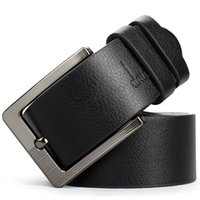 Wholesale Retro Hot Sell Fashion Men Belts Low Price Cowskin Leather New Classic Design Casual Belt Strap Pin Buckle