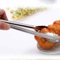 Wholesale New Practical Stainless Steel Food Leg Locking Tong Scallop Tongs
