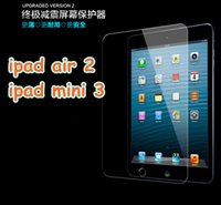 Wholesale For ipad air mini H Tempered Glass Screen Protector Film Explosion Proof Screen Guard for ipad Mini ipad pro inch