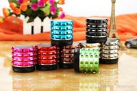 Wholesale Wireless Bluetooth Mini Speakers K2 Metal Portable Micro TF Card Read For MP3 Car Ipad Cellphone Tablet Iphone