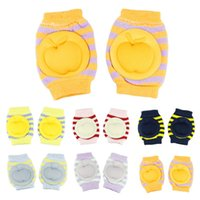 Wholesale Baby Safety Crawling Elbow Cushion Infants Toddlers Baby Knee Pads Protector Hot Selling