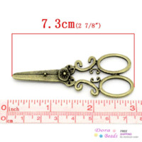 Celtic antique bronze pendant light - Charm Pendants Scissors Antique Bronze x3cm K02845 years pendant lighting dining room pendant energy pendant energy